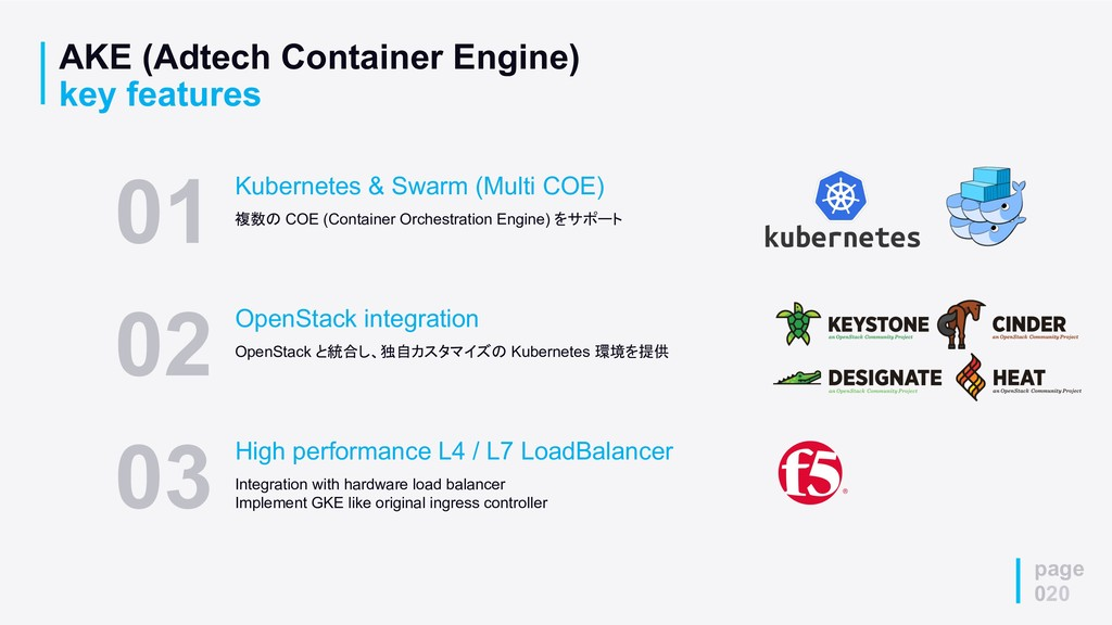page 020 AKE (Adtech Container Engine) key feat...
