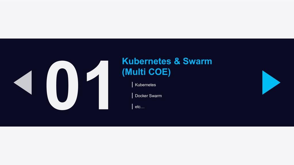 01 Kubernetes & Swarm (Multi COE) Kubernetes Do...