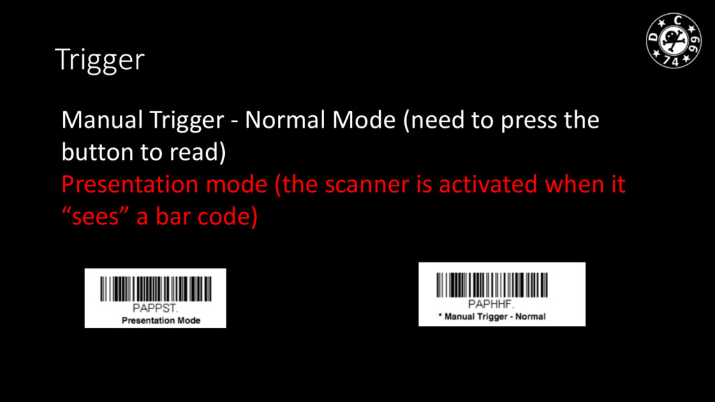 Trigger Manual Trigger - Normal Mode (need to p...