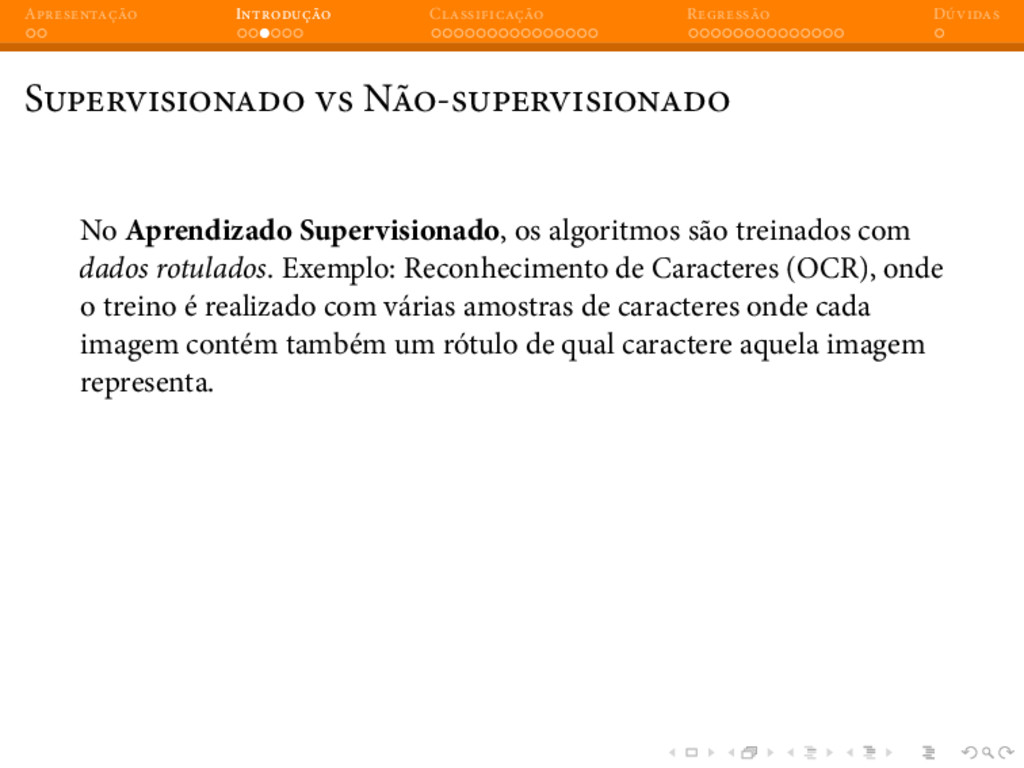 A I C R D S N - No Aprendizado Supervisionado, ...