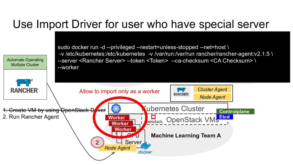 Use Import Driver for user who have special ser...