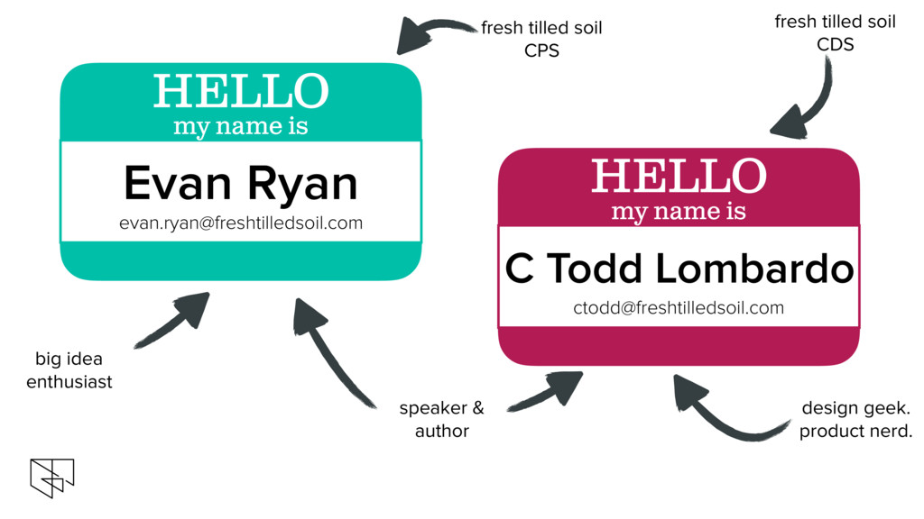fresh tilled soil CPS big idea enthusiast Evan ...