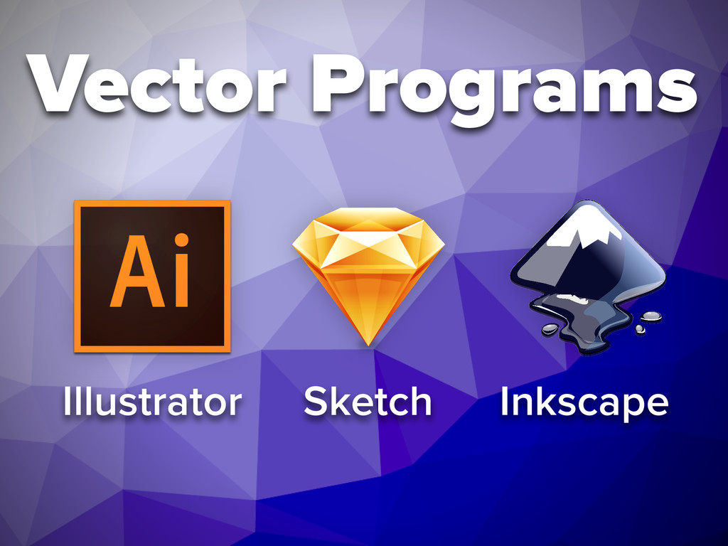Vector Programs Illustrator Sketch Inkscape