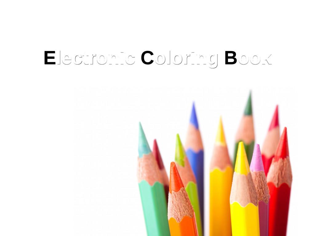 Electronic Coloring Book Electronic Coloring Bo...
