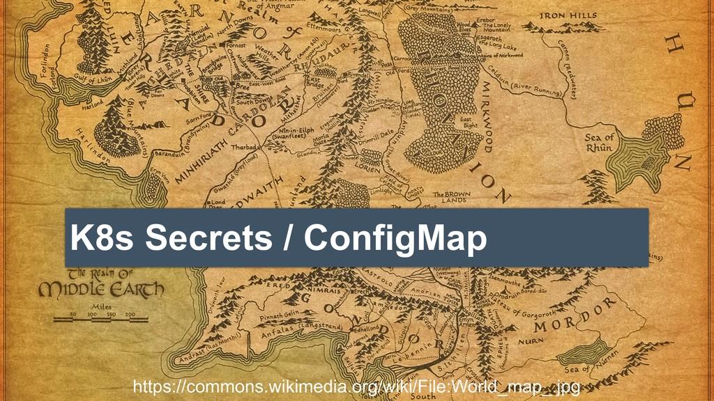 K8s Secrets / ConfigMap https://commons.wikimed...