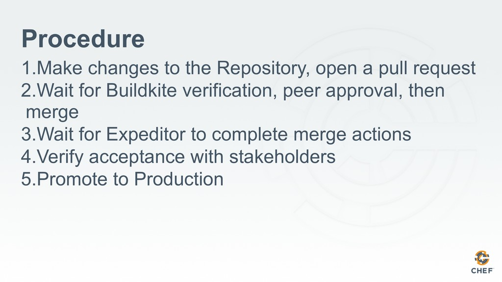 Procedure 1.Make changes to the Repository, ope...