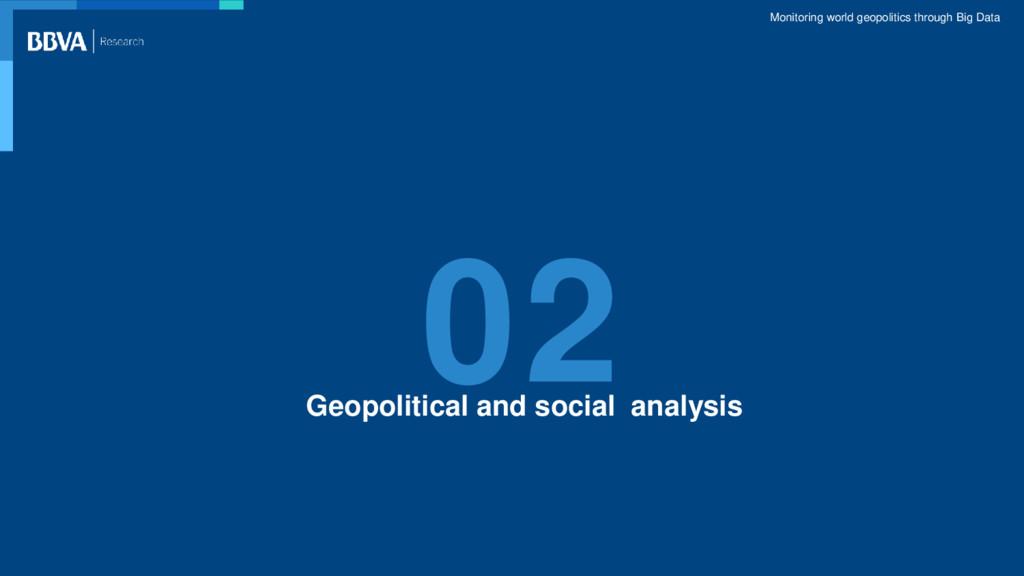 Monitoring world geopolitics through Big Data 0...