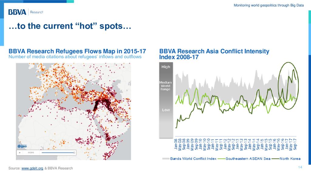 Monitoring world geopolitics through Big Data …...