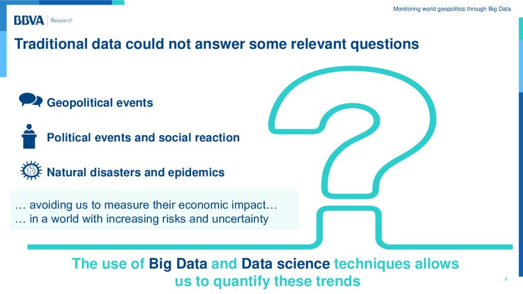 Monitoring world geopolitics through Big Data T...