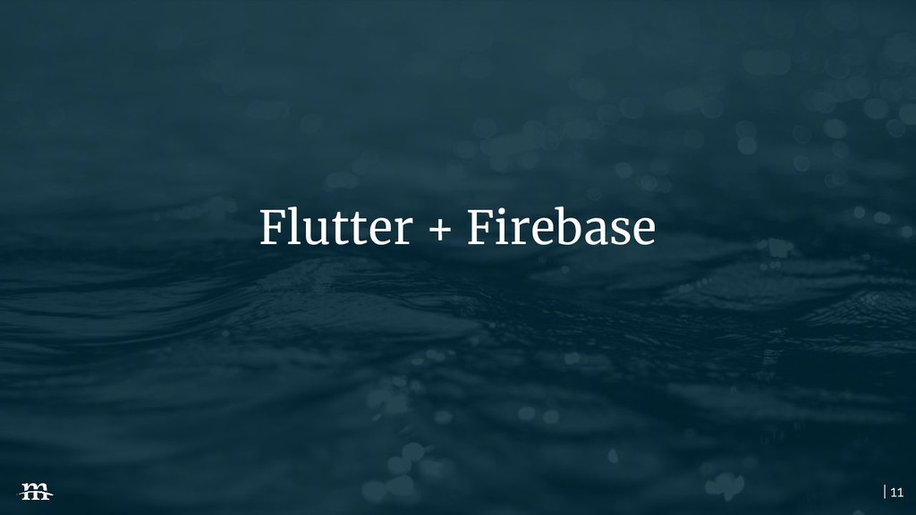 | 11 Flutter + Firebase