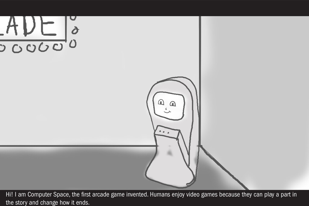 Hi! I am Computer Space, the first arcade game ...
