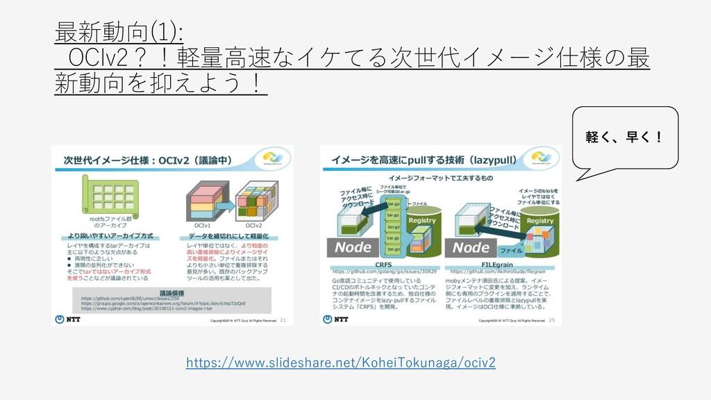 最新動向(1): OCIv2?!軽量高速なイケてる次世代イメージ仕様の最 新動向を抑えよう! ...