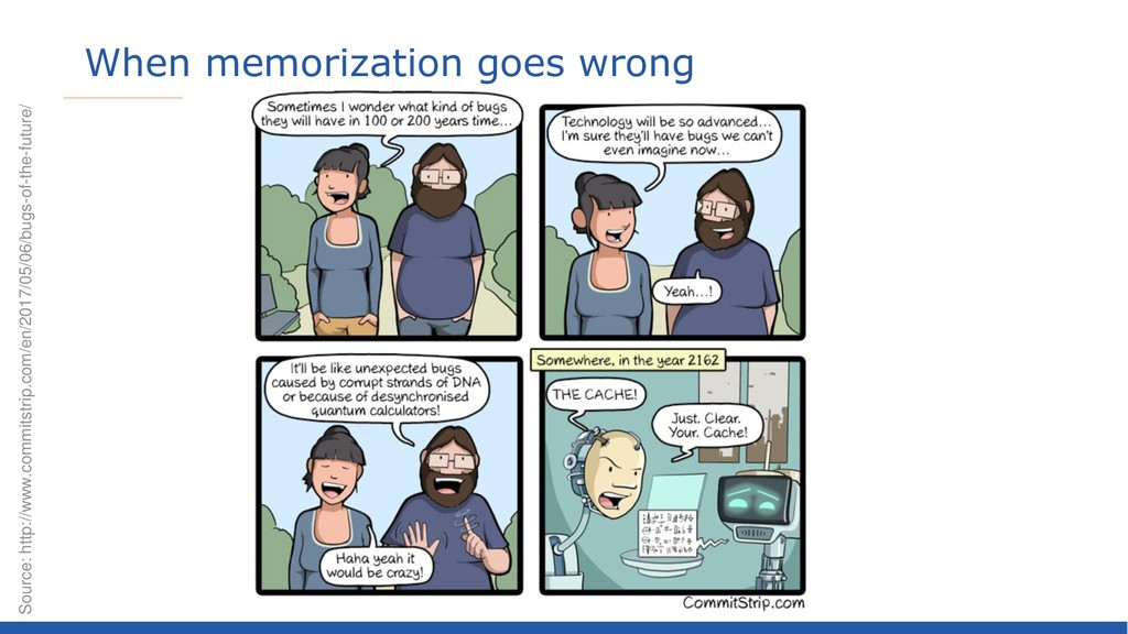 When memorization goes wrong Source: http://www...