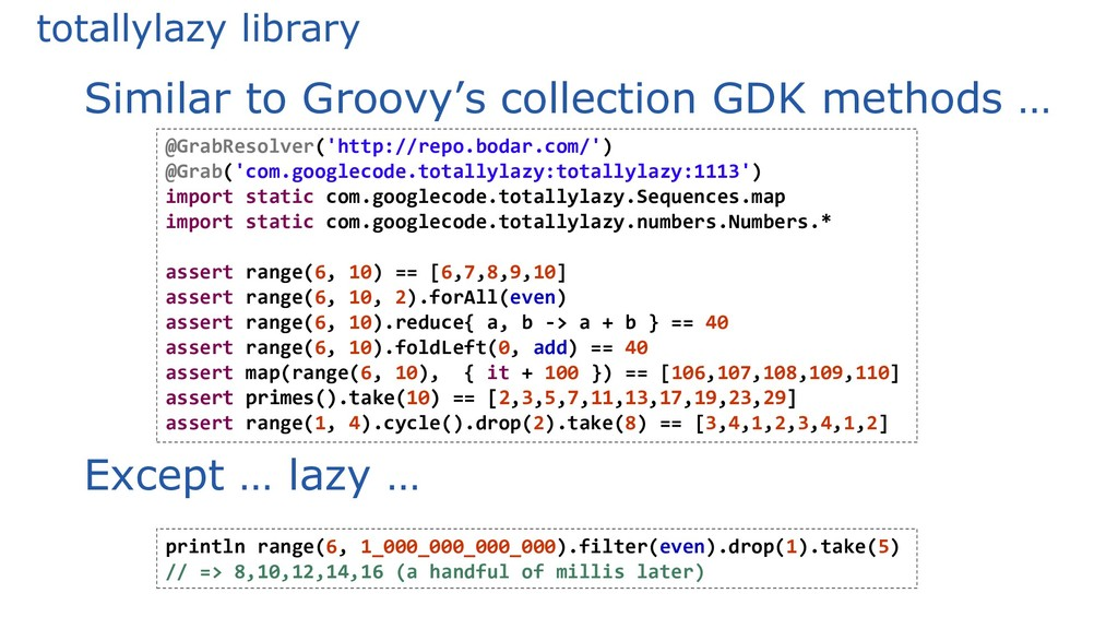 totallylazy library Similar to Groovy's collect...