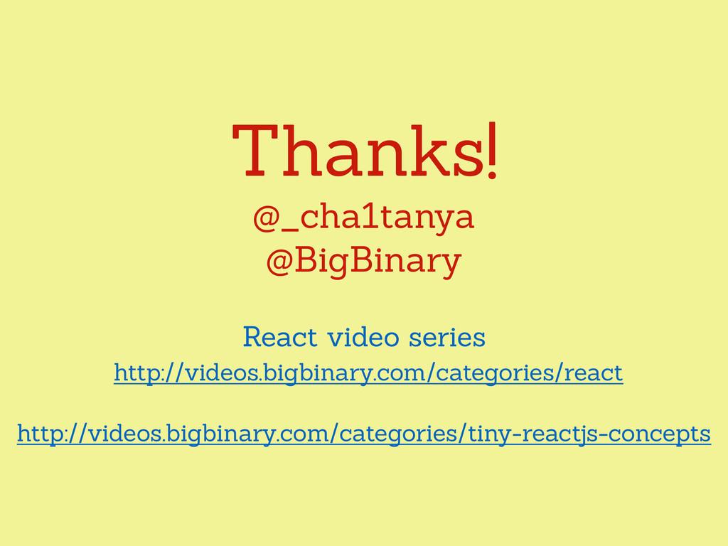 Thanks! @_cha1tanya @BigBinary React video seri...
