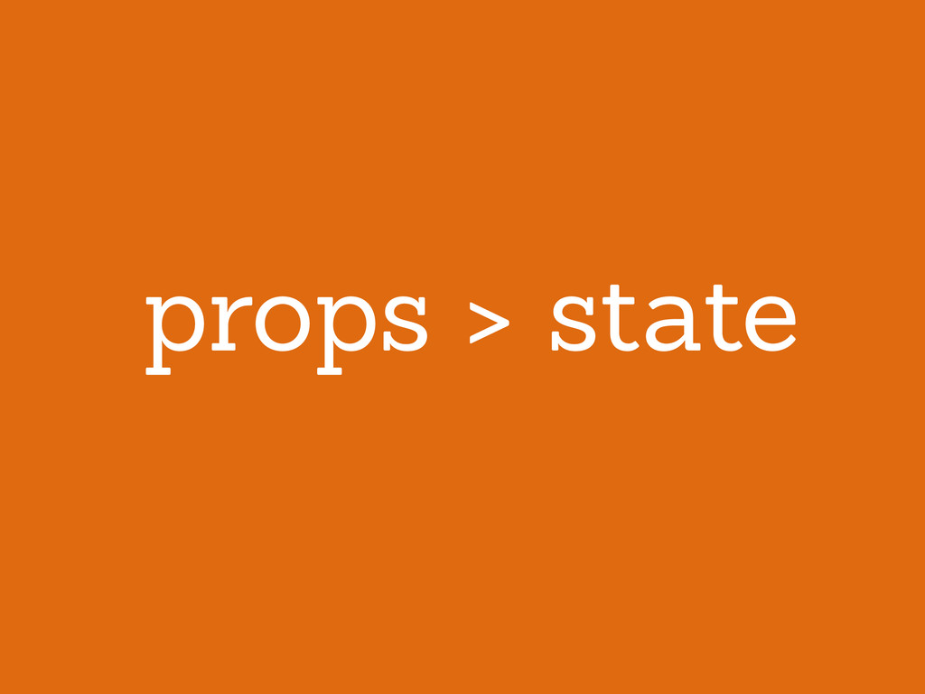 props > state