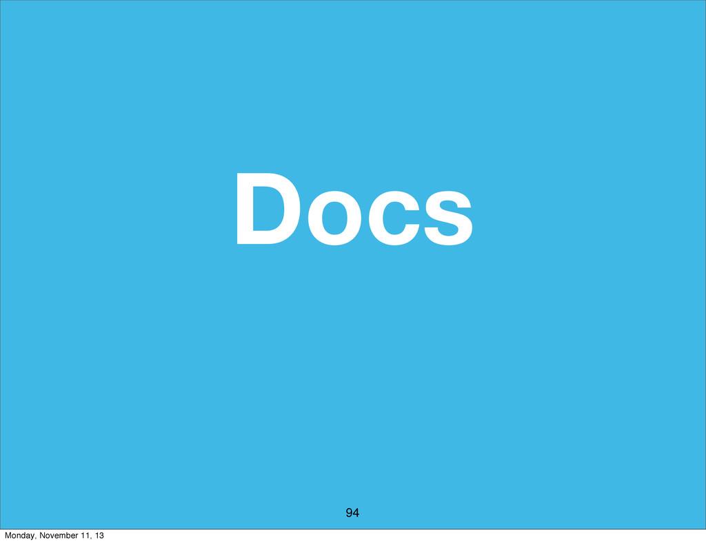 Docs 94 Monday, November 11, 13