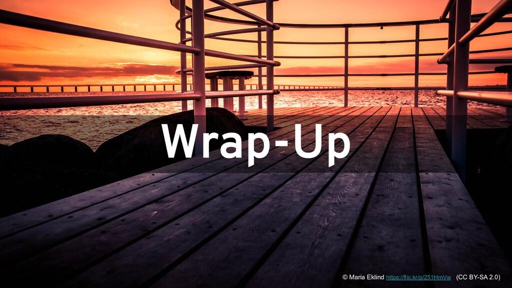 #JfrUnit @gunnarmorling Wrap-Up © Maria Eklind ...