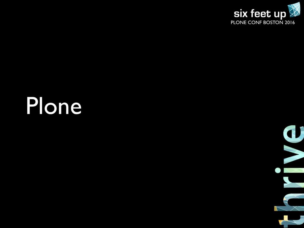 PLONE CONF BOSTON 2016 Plone