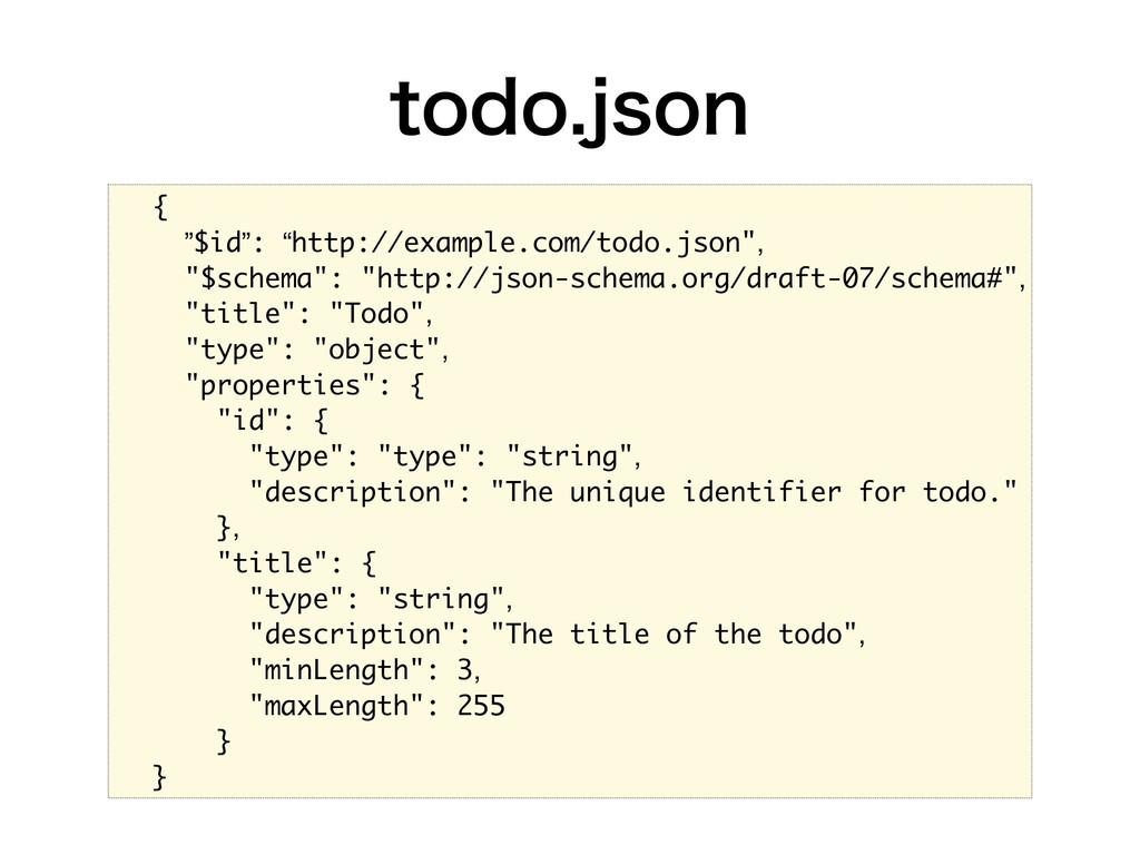 "UPEPKTPO { ""$id"": ""http://example.com/todo.j..."