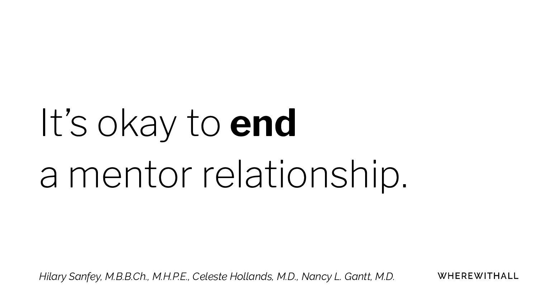 Mentoring, or coaching?