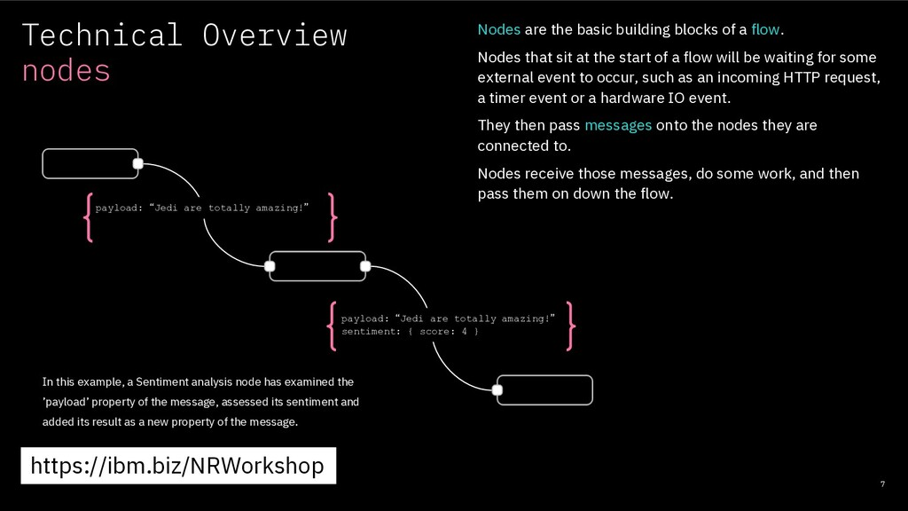Technical Overview nodes 7 Nodes are the basic ...