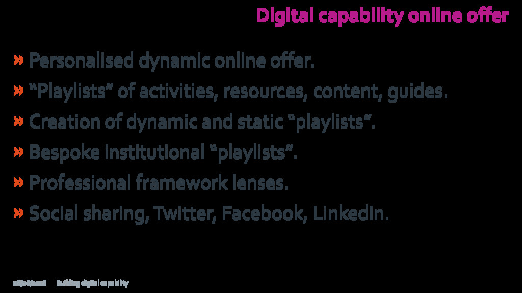 Digital capability online offer »Personalised d...