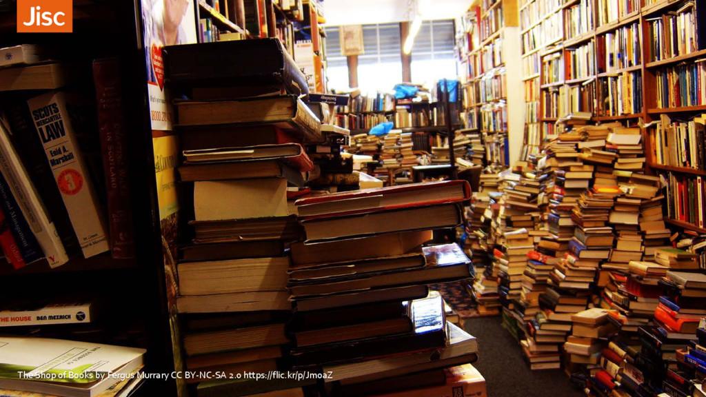The Shop of Books by Fergus Murrary CC BY-NC-SA...