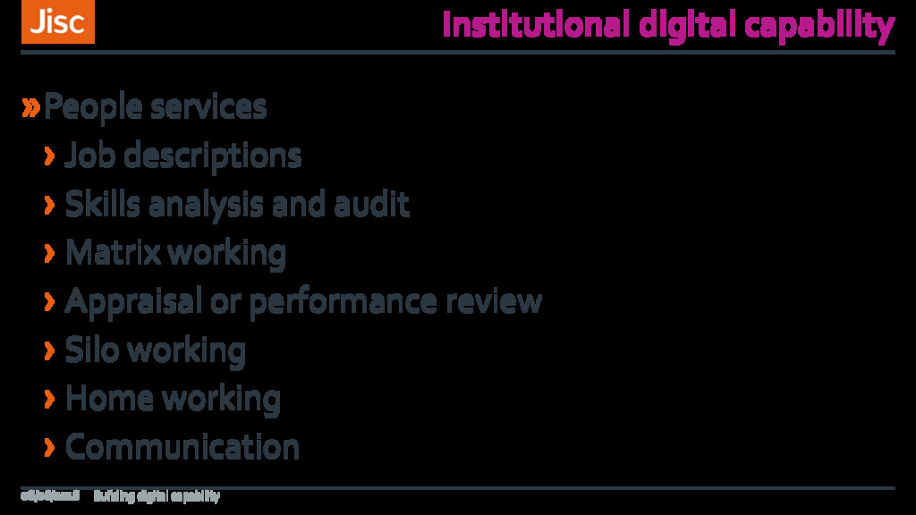 Institutional digital capability »People servic...