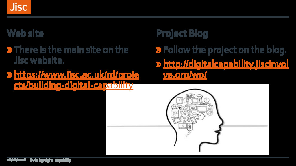 »There is the main site on the Jisc website. »h...