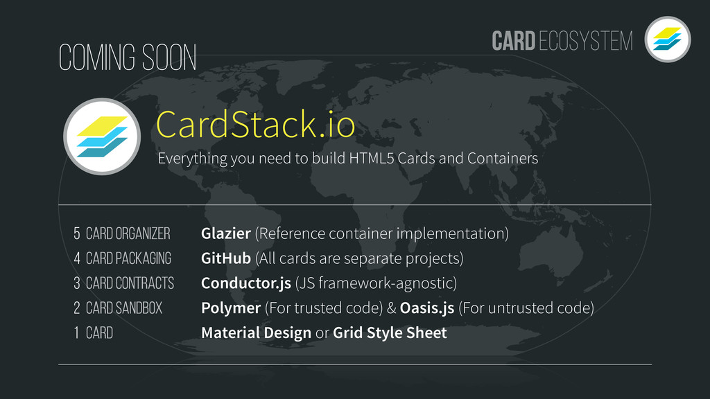 CardStack Card Organizer Card Packaging Card Co...