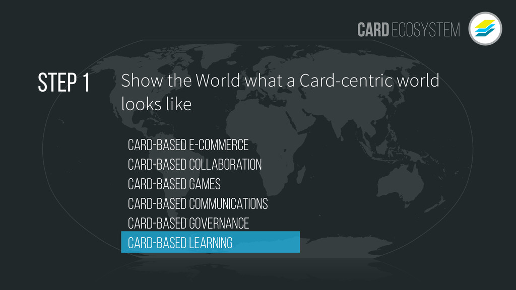 Show the World what a Card-centric world looks ...