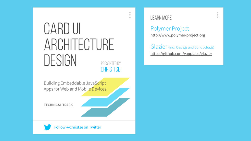Card UI Architecture Design Building Embeddable...