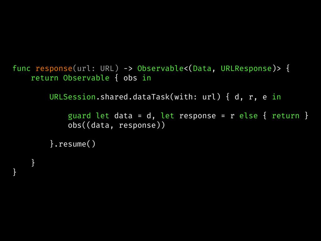 func response(url: URL) -> Observable<(Data, UR...