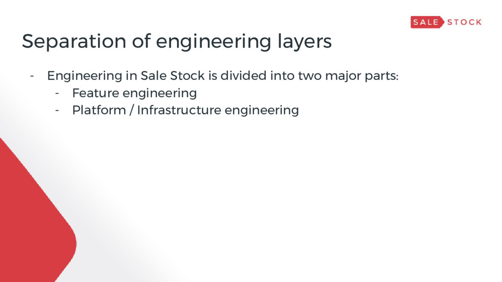 Separation of engineering layers - Engineering ...
