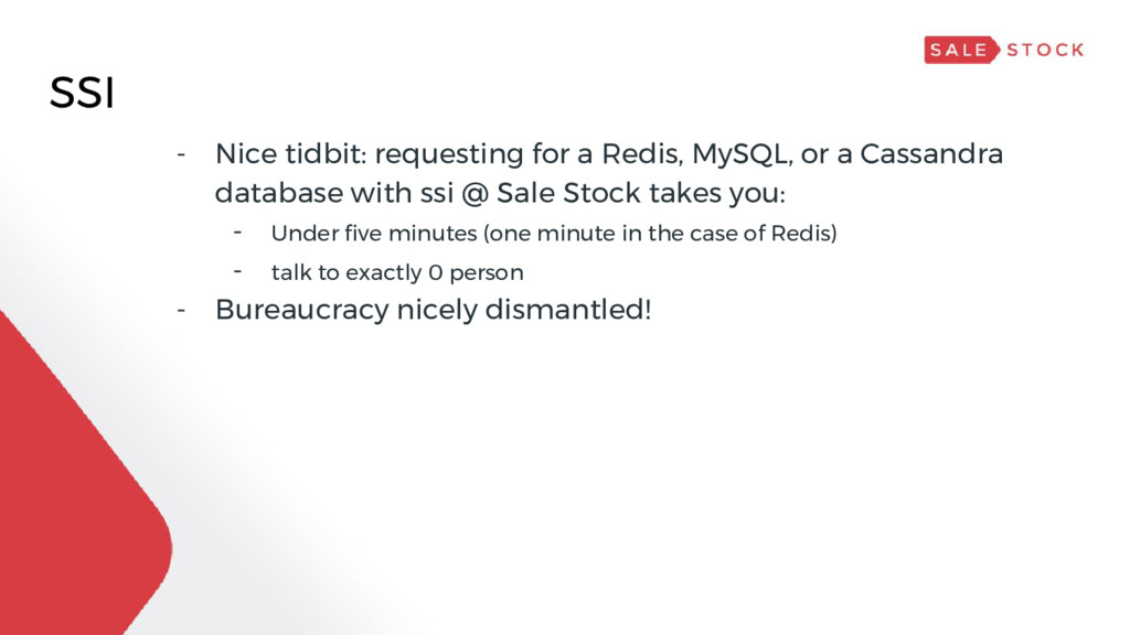 SSI - Nice tidbit: requesting for a Redis, MySQ...