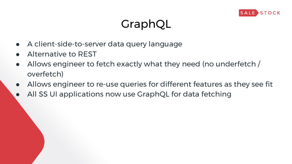GraphQL ● A client-side-to-server data query la...