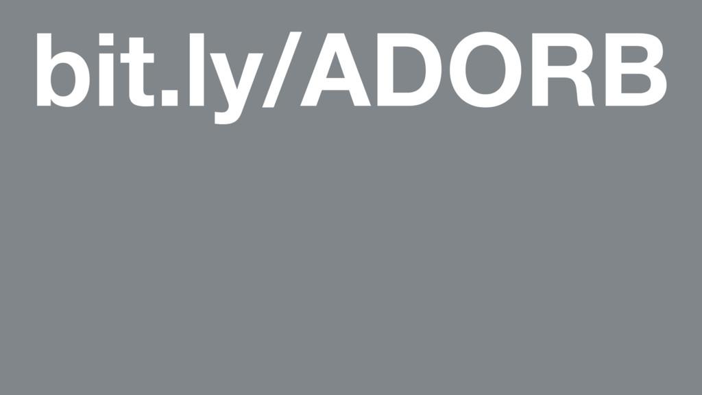 bit.ly/ADORB