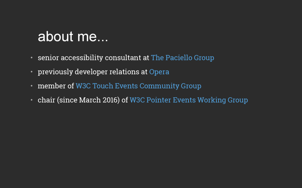 about me... • senior accessibility consultant ...