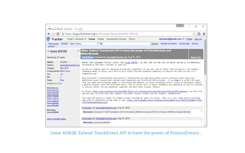 Issue 404128: Extend TouchEvent API to have the...