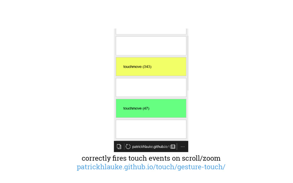 correctly fires touch events on scroll/zoom patr...