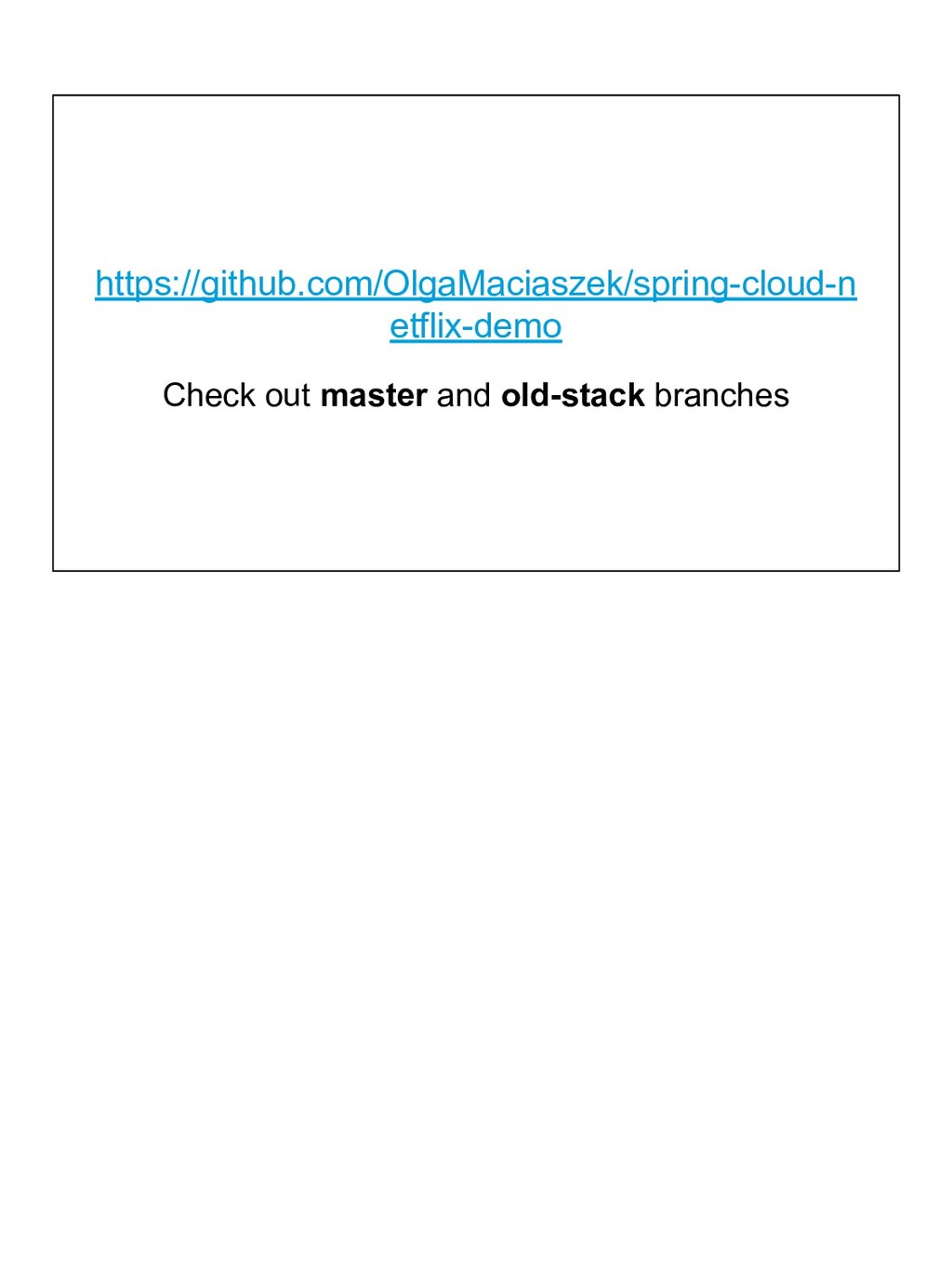 Check out master and old-stack branches https:/...