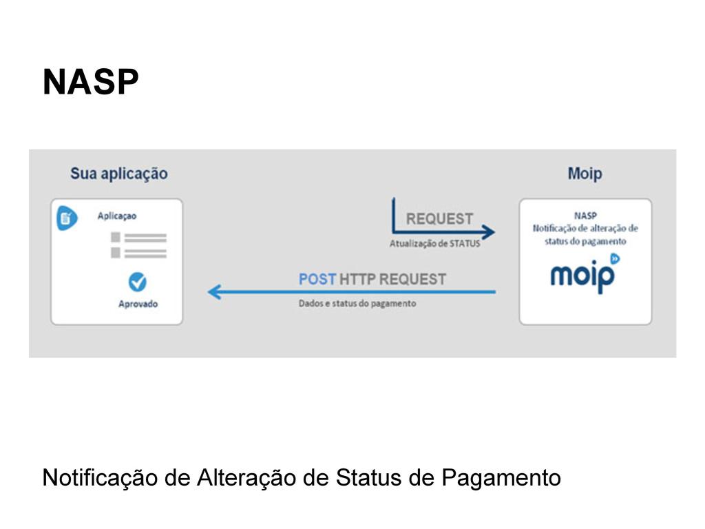 NASP Notificação de Alteração de Status de Paga...