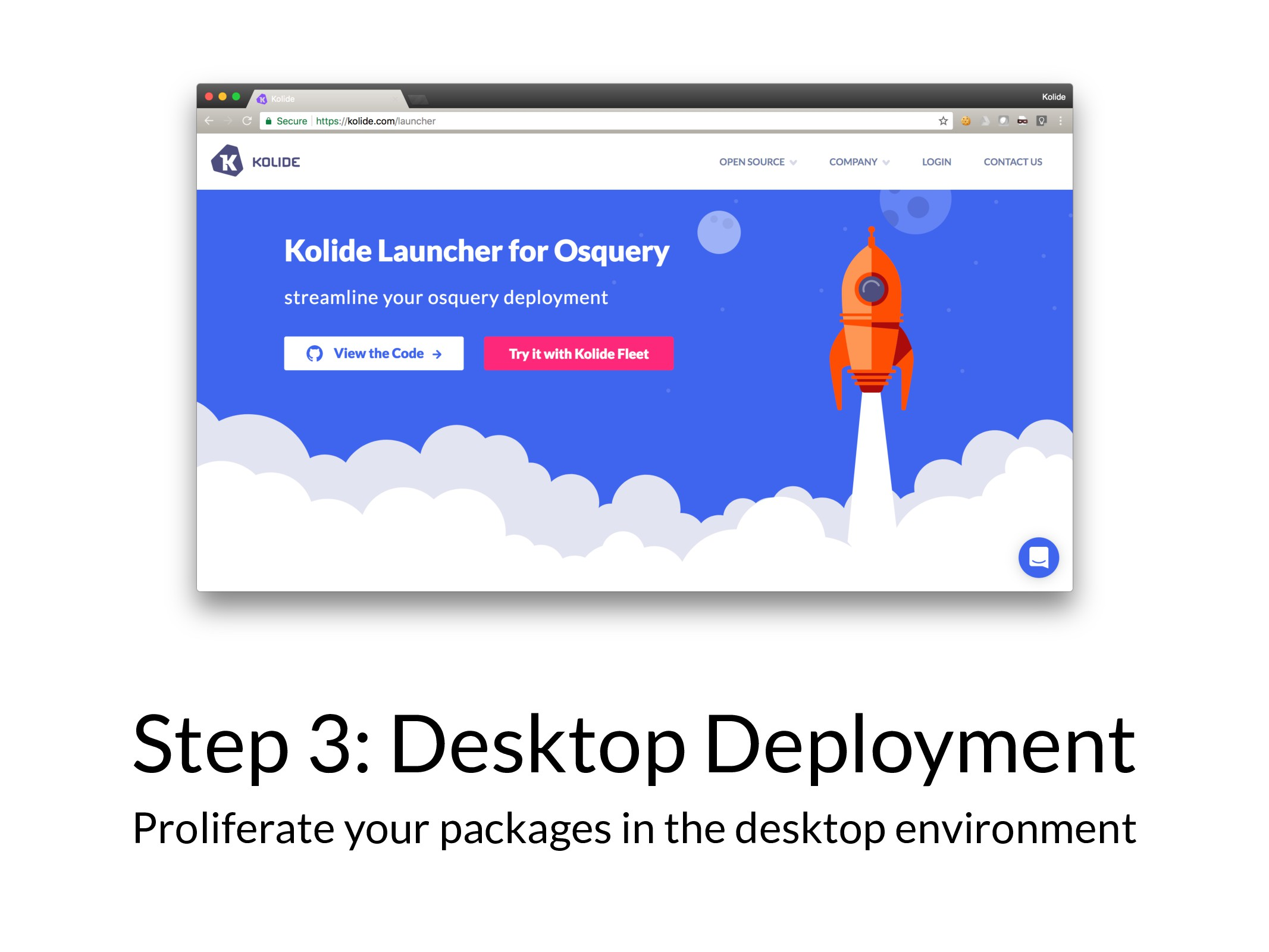 Step 3: Desktop Deployment Proliferate your pac...
