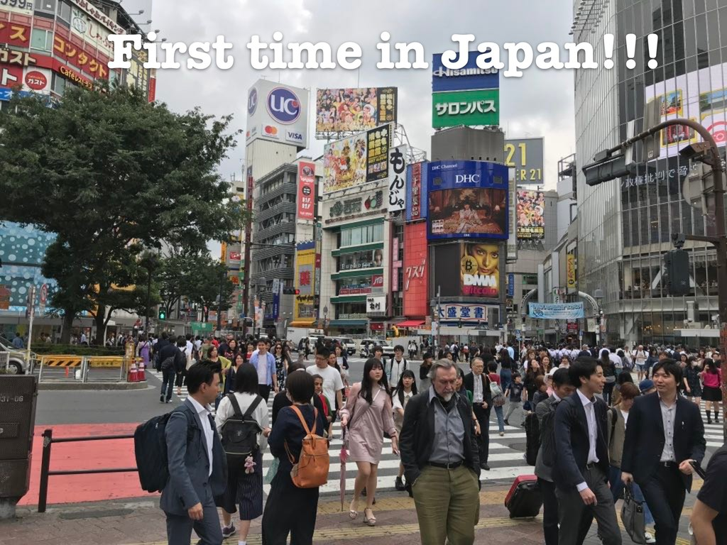 First time in Japan!!!