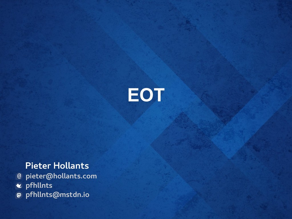 EOT Pieter Hollants pieter@hollants.com pfhllnt...