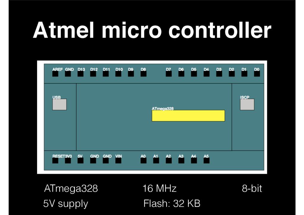Atmel micro controller 8-bit 16 MHz ATmega328 5...