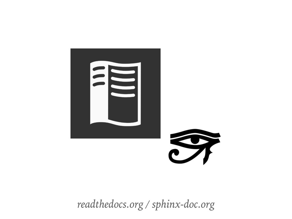 readthedocs.org / sphinx-doc.org