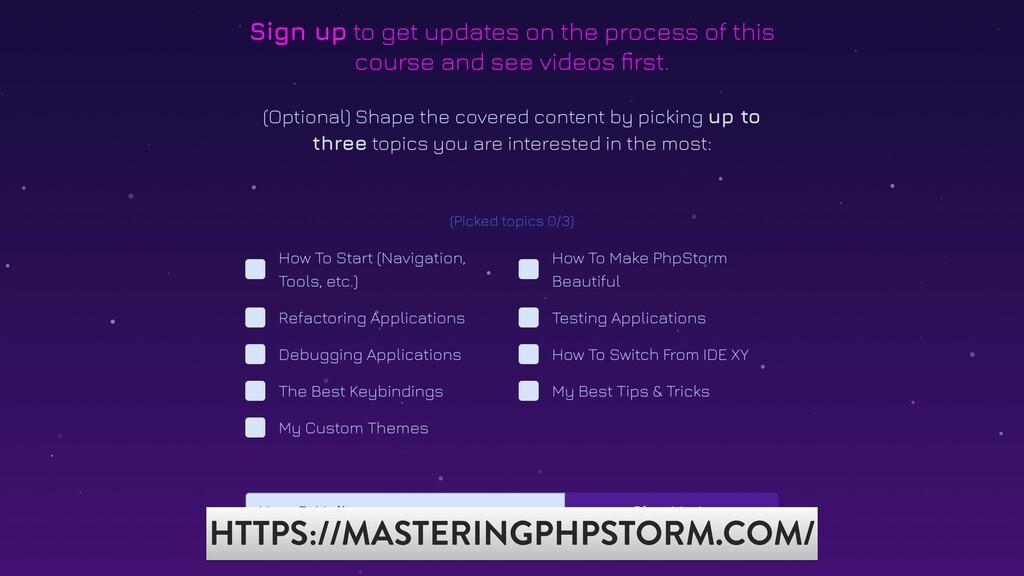 @christophrumpel MASTERING PHPSTROM HTTPS://MAS...