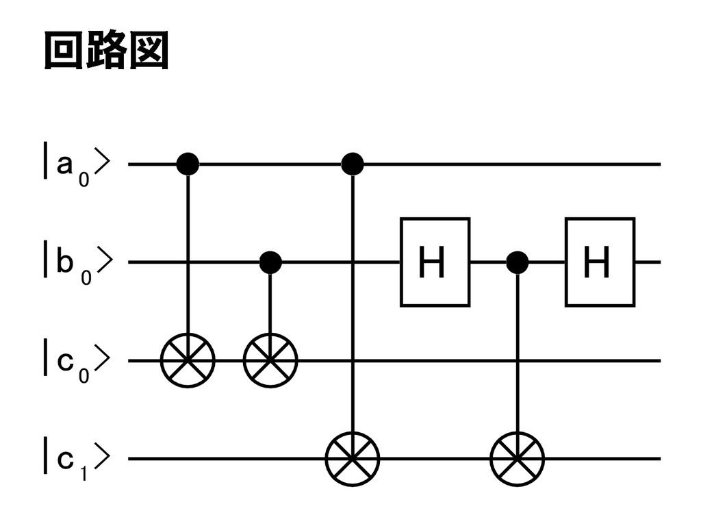 H H | a 0 > | b 0 > | c 0 > | c 1 >